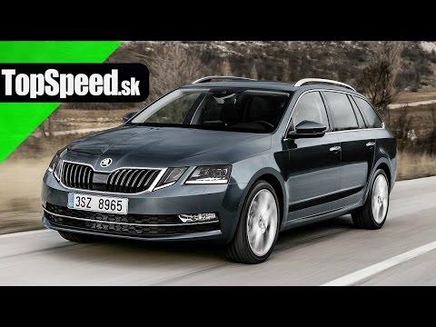 Jazda: Škoda Octavia III (facelift) TopSpeed.sk