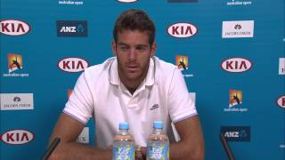 Juan Martin Del Potro withdraws from the Australian Open 2015