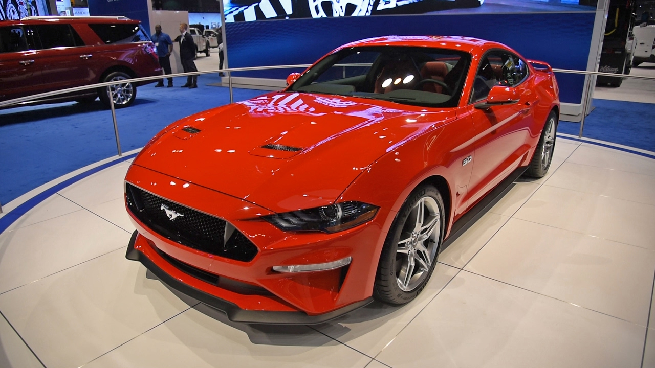 Ford Mustang First Look Chicago Auto Show YouTube - Ford show car