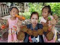 Awesome Cooking Small Fish With Vegetables Delicious Recipe -Cook Fish Recipes -Village Food Factory