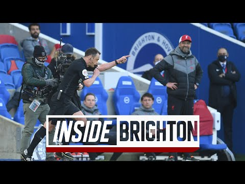 Inside Brighton: Brighton 1-1 Liverpool | VAR denies Reds