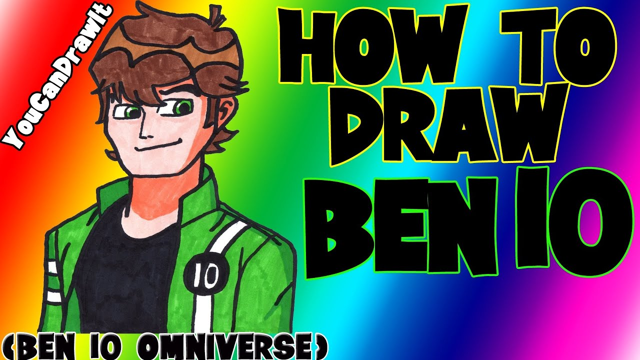 Download How To Draw Ben Tennyson from Ben 10 Omniverse ✎ YouCanDrawIt ツ 1080p HD