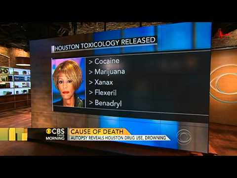 Whitney Houston autopsy results out