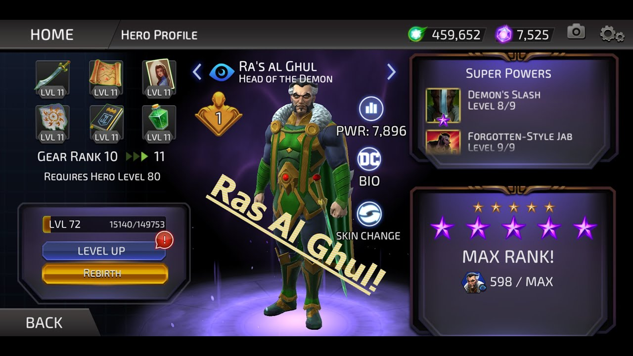 DC Legends: The Mobile Game