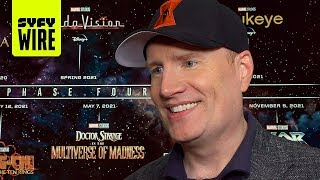 Kevin Feige On MCU Phase 4 | SYFY WIRE
