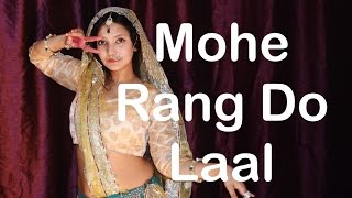 Mohe Rang Do Laal  Dance Kathak Steps