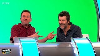 Did Rhod Gilbert sleep in the streets for a month in Spain? - Would I Lie to You? [HD][CC]