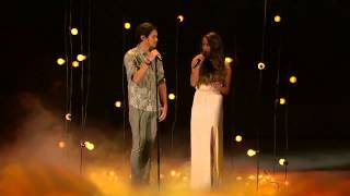 Alex & Sierra Gravity THE X FACTOR USA 2013