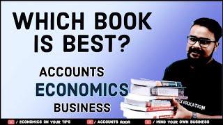 Best books for class 11-12 Accounts business studies Economics