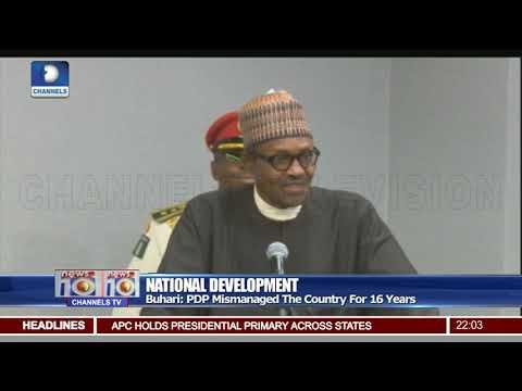 Buhari Blasts Elites For Nigeria's Challenges