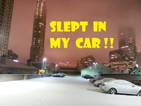 What I Learned Stranded In My Car Overnight Winter Vortex Atlanta 2014 Ice Storm Traffic Armageddon
