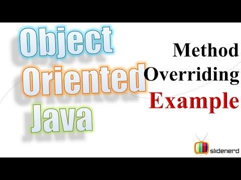 49 Java Method Overriding Example  