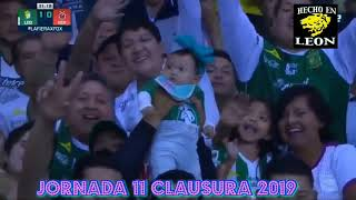 León 2 vs Veracruz 0 (Jornada 11 Clausura 2019)