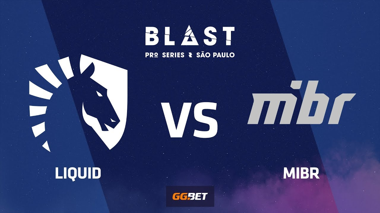 Liquid vs MIBR, dust2, BLAST Pro Series Sao Paulo 2019