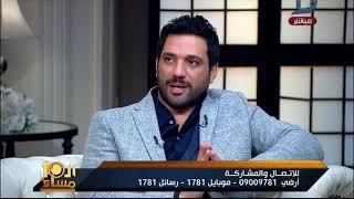 بالفيديو.. ماذا قال حسن الرداد عن مراهقته وزوجته؟