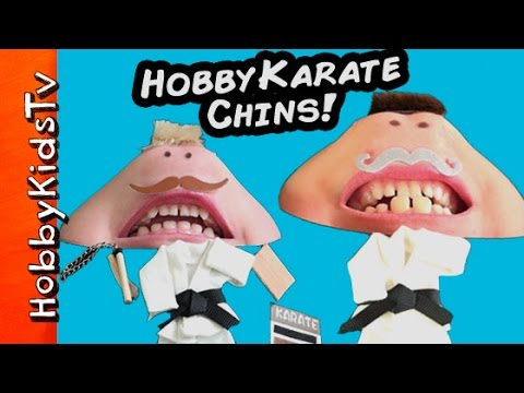 HobbyKarate + Kung Fu Frog, CHINS! Surprise Superhero Blind Boxes HobbyKidsTV