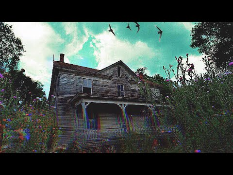 Abandoned house in the mountains w/ graves in the backyard -#87