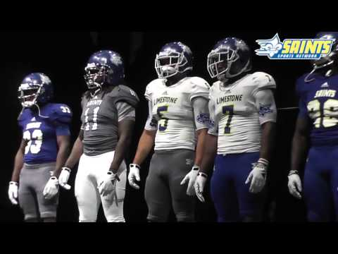 Limestone College Football Debuts Inaugural Season Uniforms