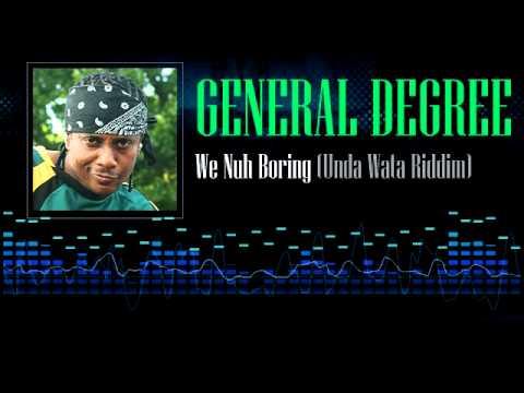 45cat - General Degree - Wi Nuh Boring / Unda Wata [Version] - K