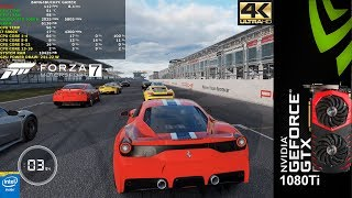 Forza MotorSport 7 Maximum  Settings 4K | GTX 1080Ti | i7 5960X 4.3GHz