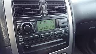 Toyota Avensis D4D 2002 cold start -7°C