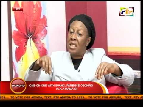 ONE ON ONE WITH EVANG PATIENCE OZOKWO  END