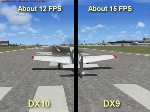FSX Vista: DX10 Versus DX9