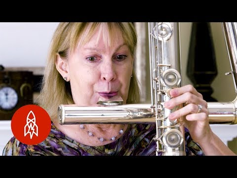 Playing the World's Largest Flutes