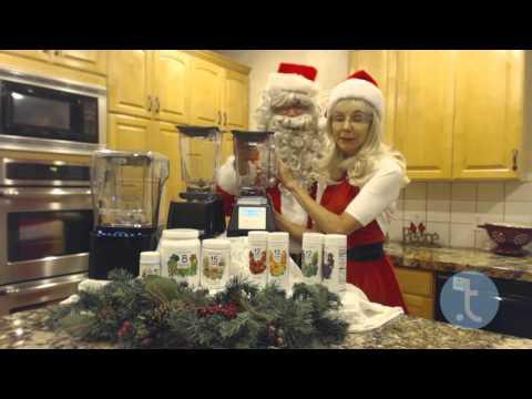 Santa & LC Present Blendtec Blenders