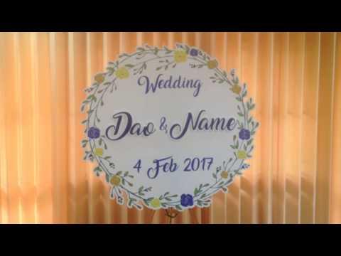 โลโก้งานแต่ง โลโก้แต่งงาน ป้ายแต่งงาน ป้ายงานแต่ง ป้ายชื่องานแต่งงาน ป้ายประกอบพิธี