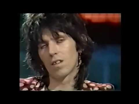 Rolling Stones Keith Richards interview Old Grey Whistle Test 1974