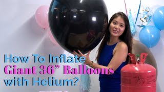 How To Inflate Balloons with Helium Like A Pro?