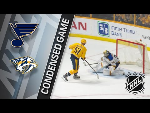 02/25/18 Condensed Game: Blues @ Predators