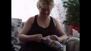 Santa's Gift Linny New Hat Mitts Scarf Glove Walmart Sets Dec 2013