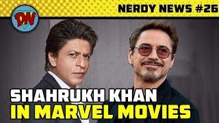Shahrukh in MCU, Captain Marvel Trailer, Henry Cavil Exits, Avengers 4, DC Tv Shows | Nerdy News #26