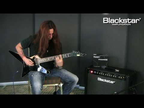 Gus G. demonstrates the new Blackstar HT-Blackfire