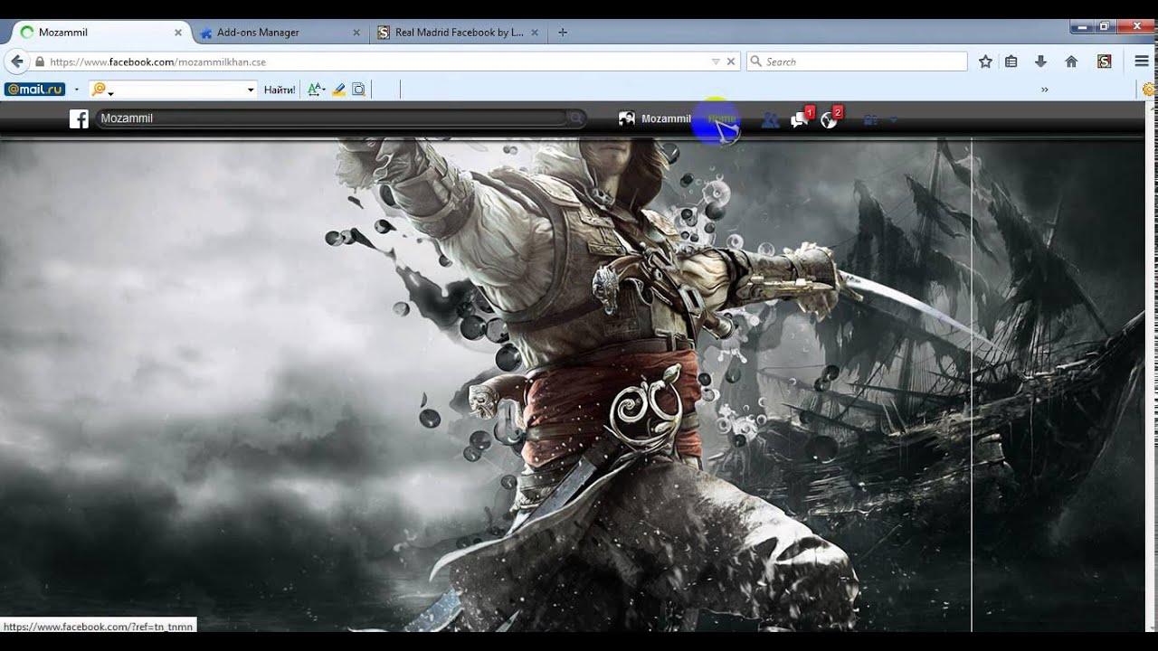 Google themes mozilla - How To Change Facebook Theme On Mozilla Firefox Google Chrome