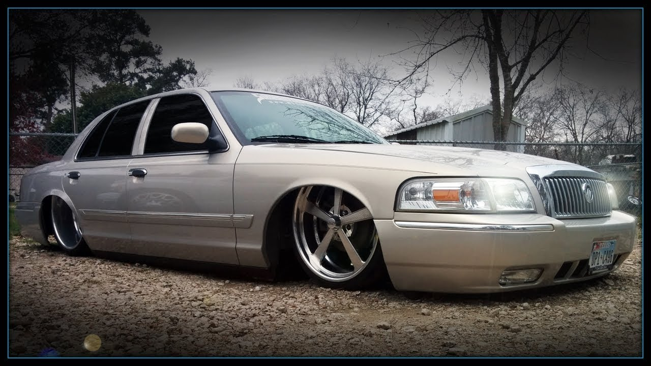 bagged mercury grand marquis on 22s 24x12s by slaughter house youtube bagged mercury grand marquis on 22s 24x12s by slaughter house