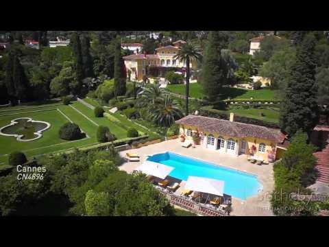 """[TRAILER] Belle Epoque Property in Cannes / Propriété """"Belle Époque"""" unique à Cannes"""