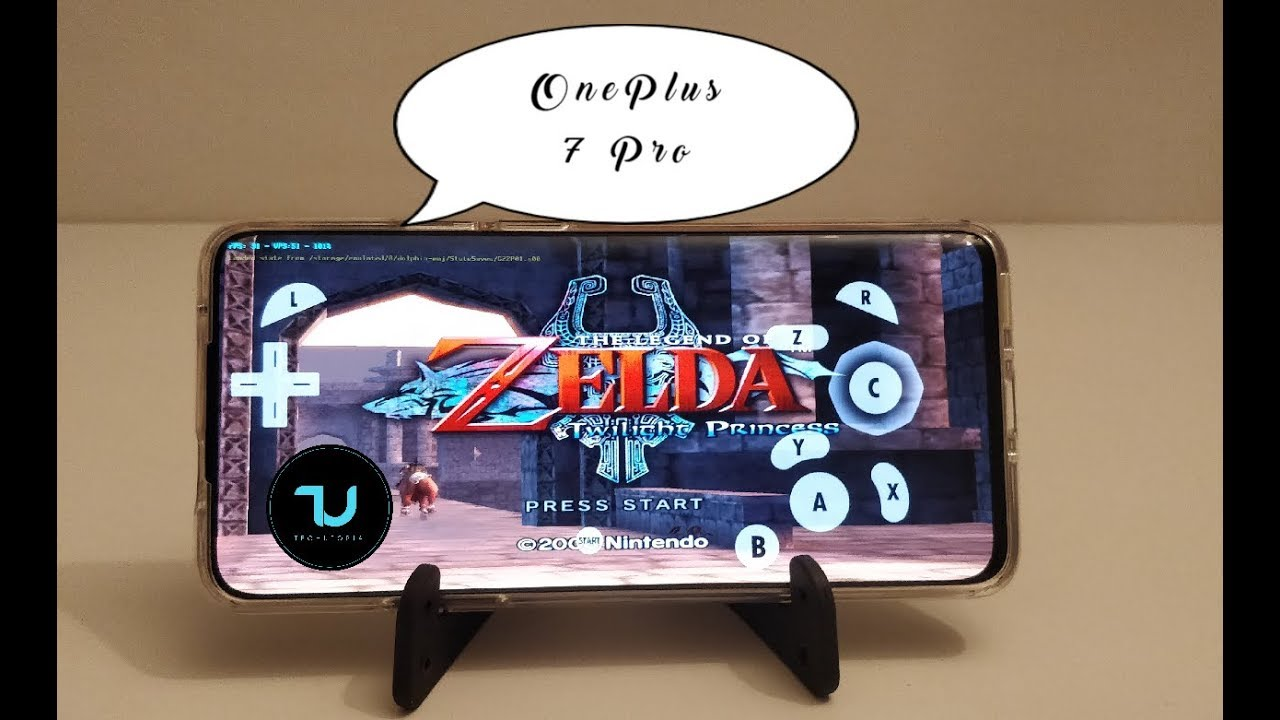 OnePlus 7 Pro The Legend of Zelda Twilight Princess Gameplay/Dolphin  emulator/Snapdragon 855 dolphin