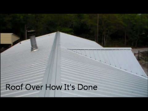 Roof Over How I Did It Mobile Home Roof Overs Florida on mobile home construction, mobile home decks, mobile home room additions florida, mobile home roofing costs, mobile home metal roofing materials,