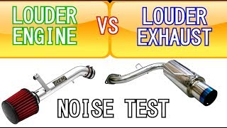 how to make your exhaust louder