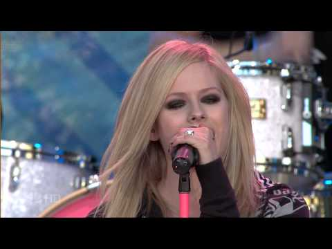 Avril Lavigne - When You re Gone (Live @ Tonight Show With Jay Leno 15.06.2007)
