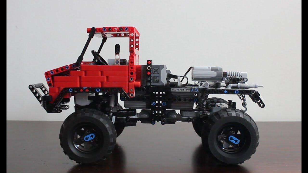 Lego Technic Unimog Trial Truck With Sbrick Youtube