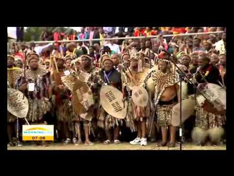 King Zwelithini, Queen Mafu say 'I do'