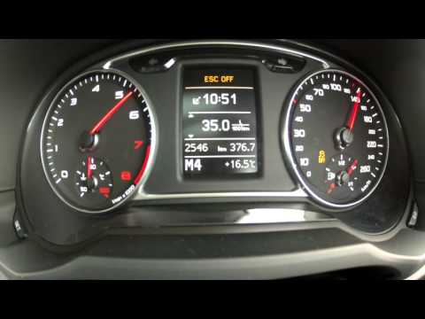 2015 Audi A1 Sportback 1.8 TFSi Sport (141kW/192hp) Stronic 0-160km/h with GPS results
