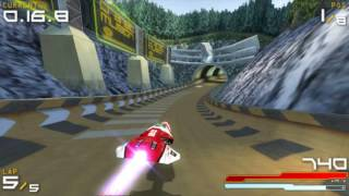 WipEout Pure Ascension Speed Run [20:42] HD 60 FPS