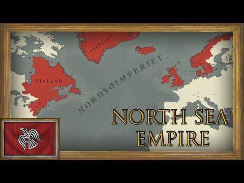 EU4 - Timelapse - Restoring the Viking North Sea Empire