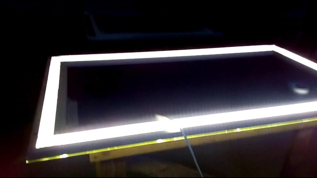 Как сделать светодиодную подсветку своими руками на зеркало фото 269