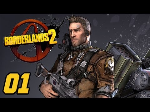 Let's Play - Borderlands 2 German - Der neue Kammer-Jäger - #001